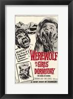 Framed Werewolf in a Girls Dormitory