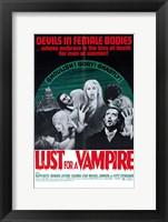 Framed Lust for a Vampire