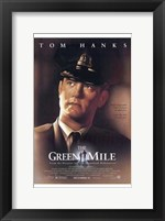 Framed Green Mile Tom Hanks