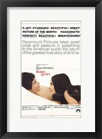 Framed Romeo and Juliet Paramount Pictures