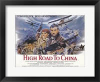 Framed High Road to China Tom Selleck