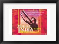 Framed Mother India