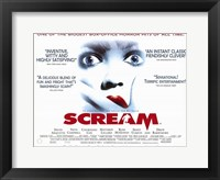 Framed Scream From Wes Craven