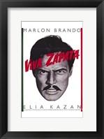 Framed Viva Zapata!