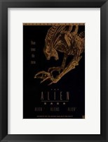Framed Alien Saga  the (Video Poster)