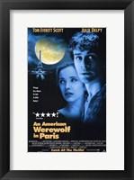 Framed American Werewolf in Paris  an