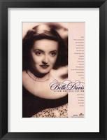 Framed Bette Davis Signature Collection