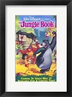 Framed Jungle Book Walt Disney Classic