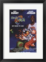 Framed Space Jam - Michael Jordan