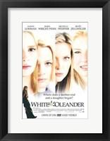 Framed White Oleander