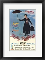 Framed Mary Poppins (spanish)
