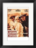 Framed Misfits Clift Monroe Gable