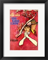 Framed My Fair Lady Red