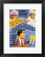 Framed Arsenic and Old Lace