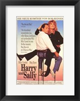 Framed When Harry Met Sally - German (couple sitting)