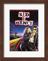 Framed Sid and Nancy - Punk love story