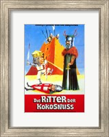 Framed Monty Python and the Holy Grail - men fighting