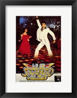 Framed Saturday Night Fever (The Bee Gees) - dancing