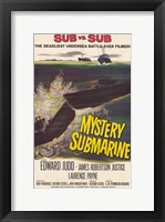 Framed Mystery Submarine