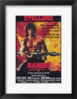 Framed Rambo: First Blood  Part 2 Stallone