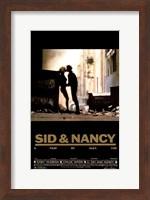 Framed Sid and Nancy