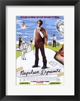 Framed Napoleon Dynamite Nothing to Prove
