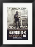 Framed Band of Brothers Memories Keep Us Going