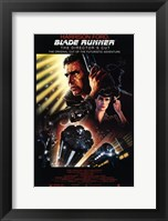 Framed Blade Runner Futuristic Adventure