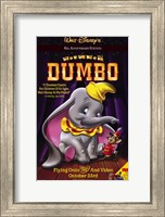 Framed Dumbo with Mouse