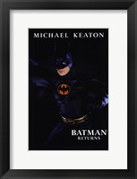 Framed Batman Returns Michael Keaton