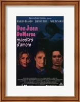 Framed Don Juan De Marco Film Italian