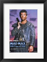 Framed Mad Max Beyond Thunderdome Italian