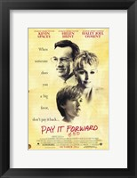 Framed Pay it Forward Kevin Spacey
