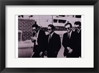 Framed Reservoir Dogs B&W Scene