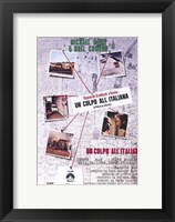 Framed Italian Job Italian Language