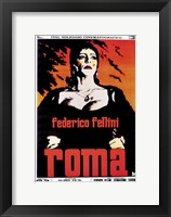 Framed Fellini's Roma Film Italian