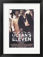 Framed Ocean's Eleven - walking