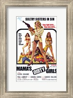 Framed Mama's Dirty Girls, c.1974