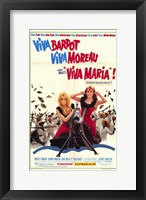 Framed Viva Maria