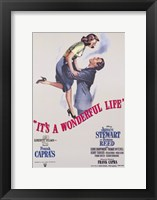 Framed It's a Wonderful Life Frank Capra
