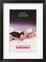Framed Truth or Dare In Bed with Madonna