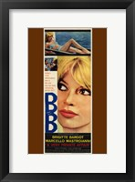 Framed Very Private Affair Brigitte Bardot