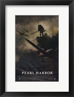 Framed Pearl Harbor Ship Silhouette