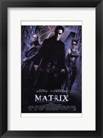 Framed Matrix - lightning