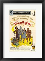 Framed Wizard of Oz We're Off to See the Wizard