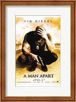 Framed Man Apart - movie poster