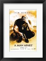 Framed Man Apart - movie poster