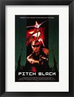 Framed Pitch Black Vin Diesel