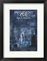 Framed Resident Evil: Apocalypse Movie
