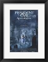 Framed Resident Evil: Apocalypse Movie